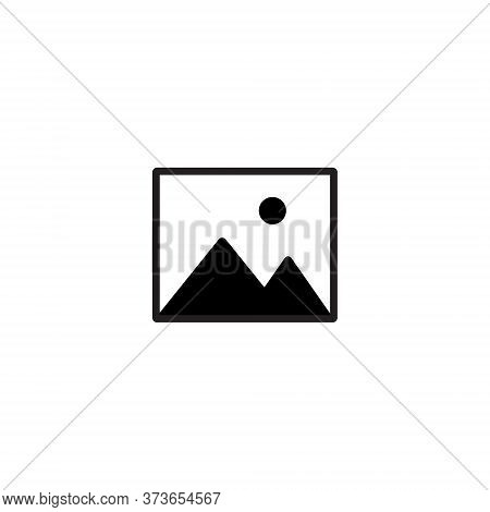 Image Gallery Icon Vector In Trendy Style. Photo, Picture, Photograph Symbol Illustration