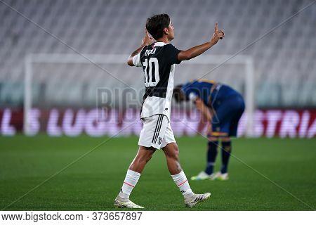 Torino (italy) 26th June 2020. Italian Serie A. Juventus Fc Vs Us Lecce. Paulo Dybala Of Juventus Fc