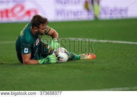 Torino (italy) 26th June 2020. Italian Serie A. Juventus Fc Vs Us Lecce. Gabriel Of Us Lecce