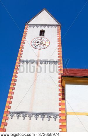 Horology At The Bell Tower Of The Church