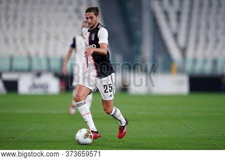 Torino (italy) 26th June 2020. Italian Serie A. Juventus Fc Vs Us Lecce. Adrien Rabiot Of Juventus F