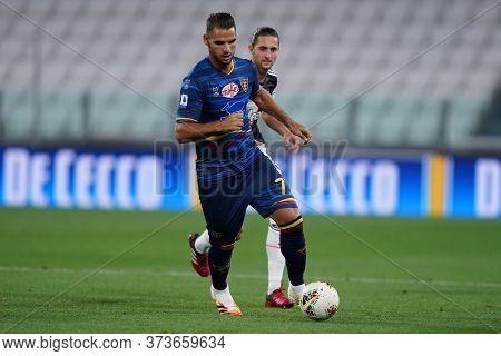 Torino (italy) 26th June 2020. Italian Serie A. Juventus Fc Vs Us Lecce. Panagiotis Tachtsidis Of Us