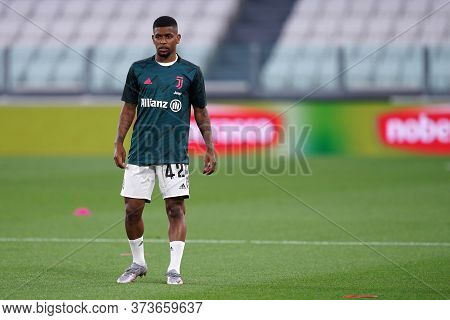 Torino (italy) 26th June 2020. Italian Serie A. Juventus Fc Vs Us Lecce. De Oliveira Wesley  Of Juve