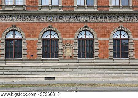 Vienna, Austria - July 12, 2015: Museum Of Applied Arts Building In Vienna, Austria.