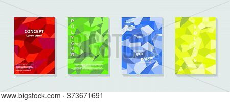 Polygon Abstract Polygonal Geometric Triangle Background.vector Illustration