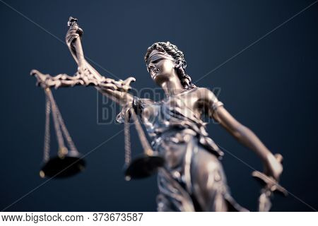 Law, Legal, Judge Concept. Lady Justice Composition