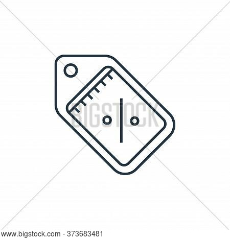 discount tag icon isolated on white background from online shopping collection. discount tag icon tr