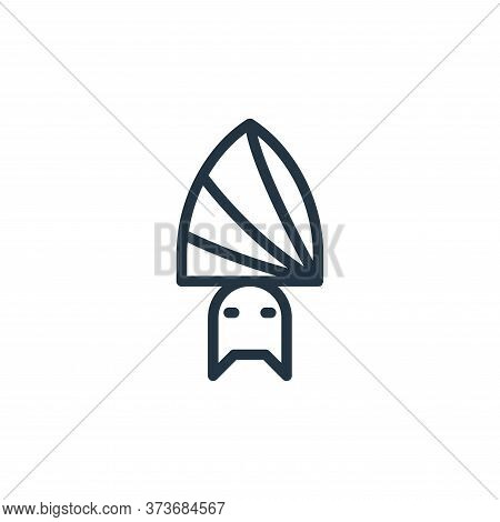 bat icon isolated on white background from coronavirus collection. bat icon trendy and modern bat sy