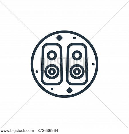 loudspeaker icon isolated on white background from music and sound collection. loudspeaker icon tren