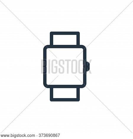 watch icon isolated on white background from technology collection. watch icon trendy and modern wat