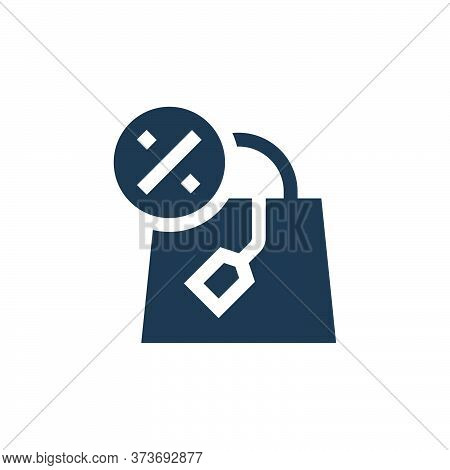 shopping bag icon isolated on white background from advertisement collection. shopping bag icon tren