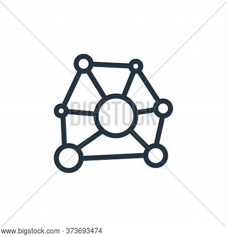 networking icon isolated on white background from work office server collection. networking icon tre