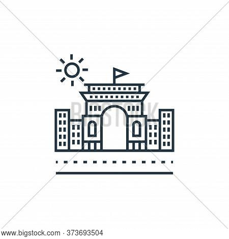 station icon isolated on white background from tourism collection. station icon trendy and modern st