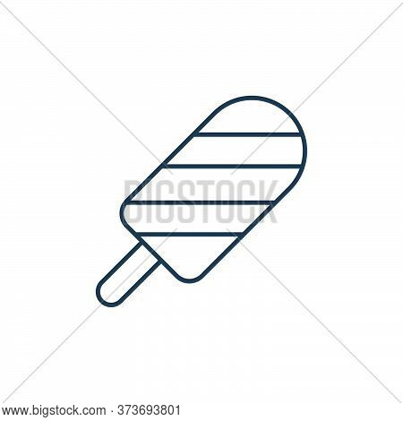 ice pop icon isolated on white background from ice pop collection. ice pop icon trendy and modern ic