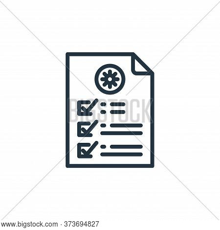 file icon isolated on white background from coronavirus collection. file icon trendy and modern file