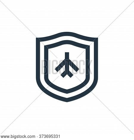 plane icon isolated on white background from insurance collection. plane icon trendy and modern plan