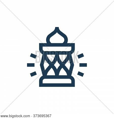 lantern icon isolated on white background from ramadan collection. lantern icon trendy and modern la