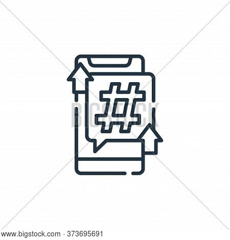 smartphone icon isolated on white background from fame collection. smartphone icon trendy and modern