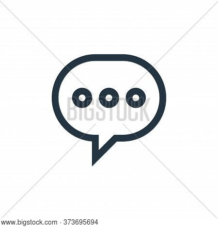 message icon isolated on white background from web essentials collection. message icon trendy and mo