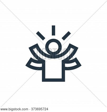 skills icon isolated on white background from management collection. skills icon trendy and modern s
