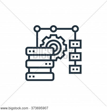 Data Merge Vector Icon From Data Analytics Collection Isolated On White Background