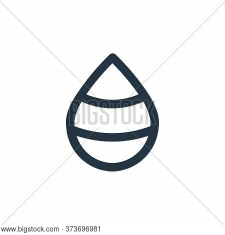 drop icon isolated on white background from user interface collection. drop icon trendy and modern d