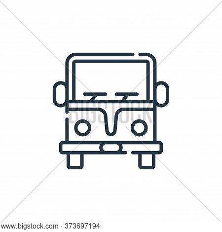 camper van icon isolated on white background from hippies collection. camper van icon trendy and mod