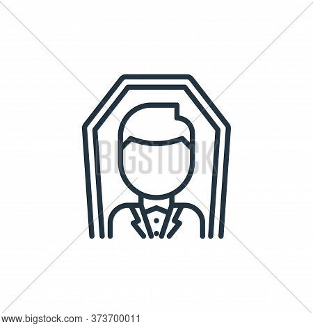 Funeral Vector Icon From Funeral Collection Isolated On White Background