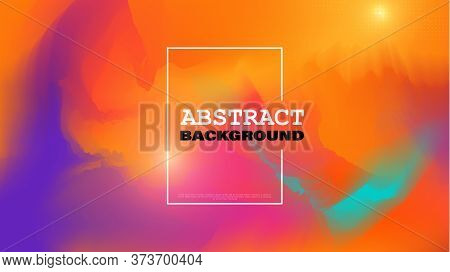 Colorful Liquid Background. Creative Fluid Colors. Fluid Shapes Composition Style Incorporates The S