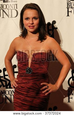 NEW YORK-SEPT. 24: Olympic ice skater Sasha Cohen attends the 27th annual Great Sports Legends Dinner for the Buoniconti Fund at the Waldorf-Astoria on September 24, 2012 in New York City.