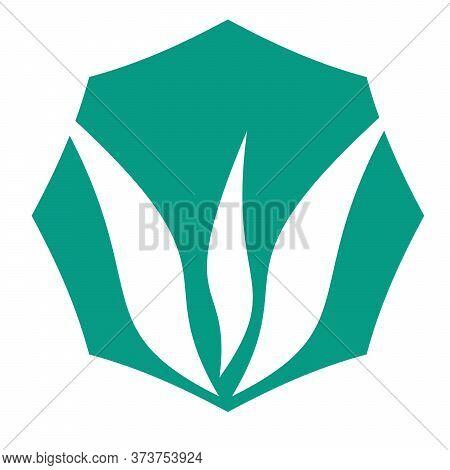 Creative Pictorial Mark Logo Design. Illustration Polygon Art