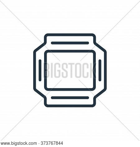 food tray icon isolated on white background from food collection. food tray icon trendy and modern f