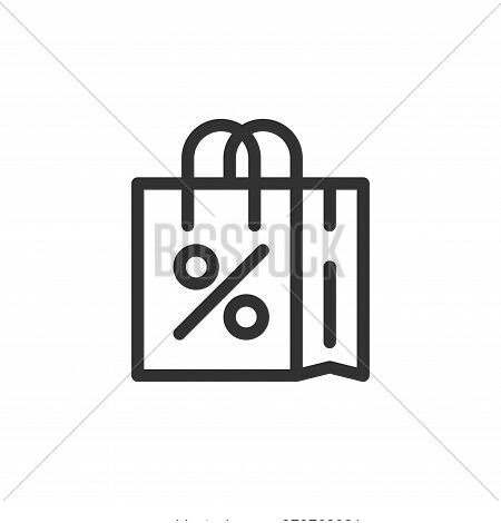 shopping bag icon isolated on white background from ecommerce collection. shopping bag icon trendy a