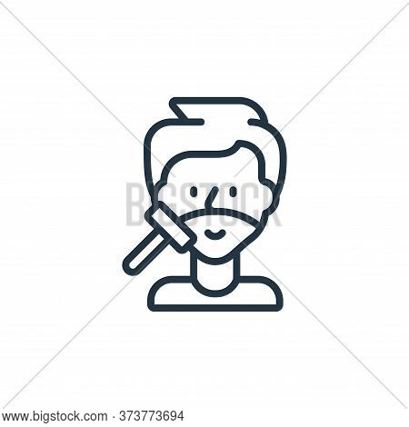 shaving icon isolated on white background from hygiene collection. shaving icon trendy and modern sh