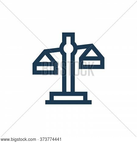 balance icon isolated on white background from insurance collection. balance icon trendy and modern