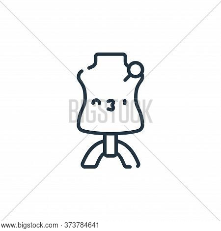 mannequin icon isolated on white background from italy collection. mannequin icon trendy and modern