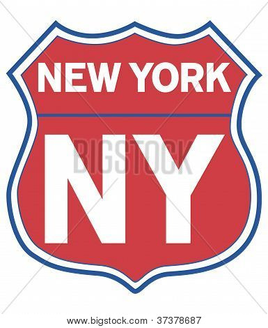 New York Road Shield