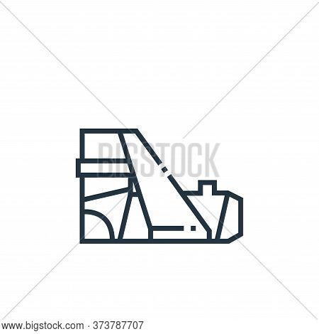 fracture icon isolated on white background from medical services collection. fracture icon trendy an