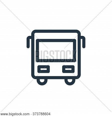 bus icon isolated on white background from holiday collection. bus icon trendy and modern bus symbol