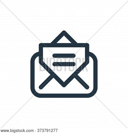 Newsletter Vector Icon From User Interface Collection Isolated On White Background