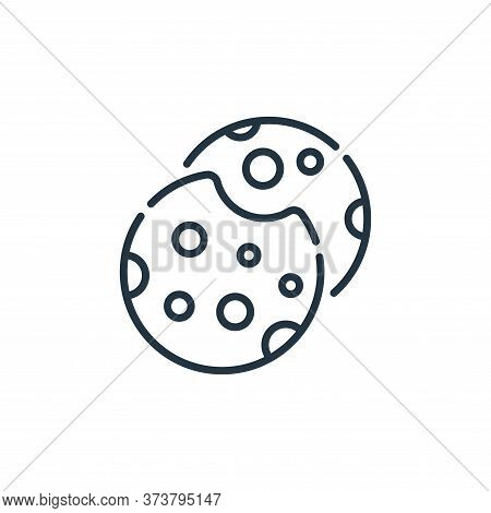 cookies icon isolated on white background from england collection. cookies icon trendy and modern co