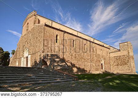 Fossacesia, Chieti, Abruzzo, Italy: Abbey Of San Giovanni In Venere, Medieval Catholic Church And Mo