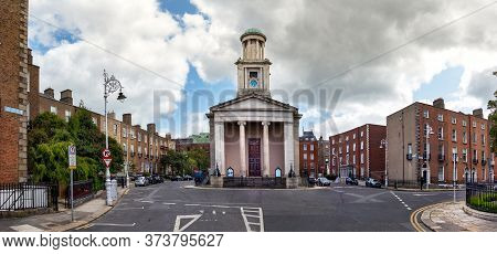 Dublin, Ireland - July 28, 2019: The St Stephen Church In Mount Street Upper, Dublin, Ireland.