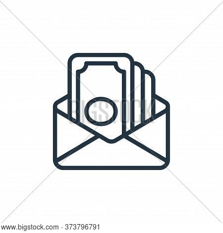 send money icon isolated on white background from money collection. send money icon trendy and moder