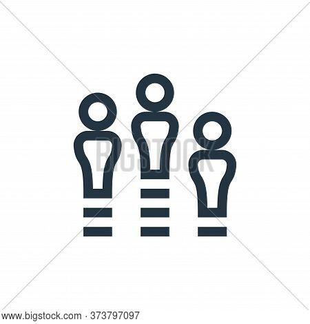 team icon isolated on white background from management collection. team icon trendy and modern team