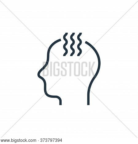 fever icon isolated on white background from pandemic novel virus collection. fever icon trendy and