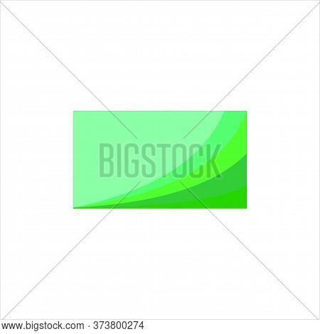 Background. Green Background. Green Wave Background, Modern Texture Background, Elegant Gradation Or