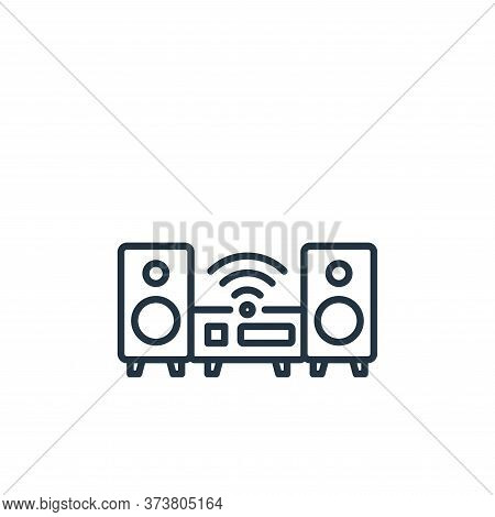 wifi icon isolated on white background from internet of things collection. wifi icon trendy and mode