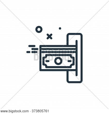 payment icon isolated on white background from work from home collection. payment icon trendy and mo