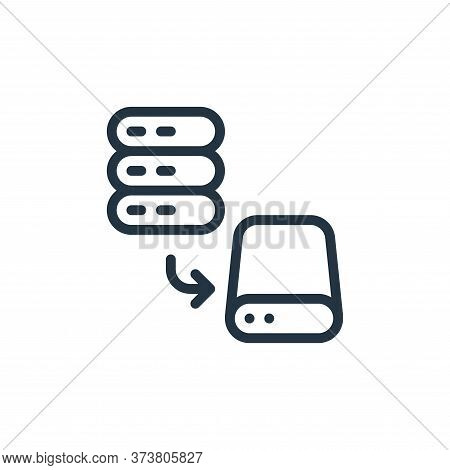 save icon isolated on white background from work office server collection. save icon trendy and mode